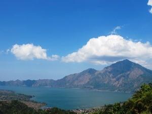 Kratersee Lake Batur am Gunung Batur
