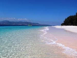 Strand und Meer auf Gili Meno