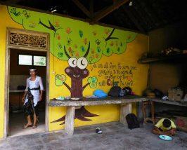 Küche der Yayasan Widya Guna Foundation in Ubud