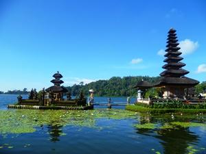 Tempel Pura Ulun Danu in Munduk
