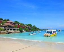 Wie Robinson Crusoe auf Nusa Lembongan