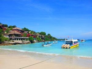 Coconut Bay auf Nusa Lembongan