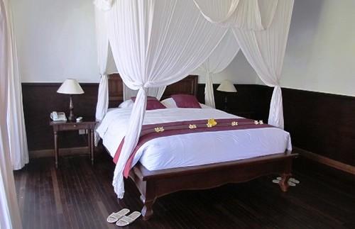 Komfortables Zimmer im Hotel in Pemuteran