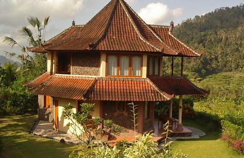 Cottage im grünen Garten in Sidemen