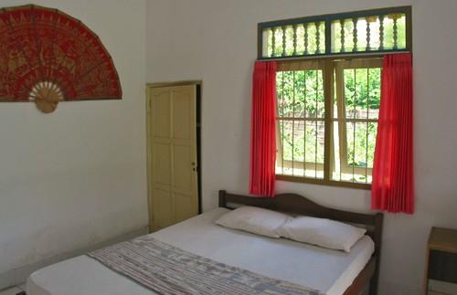 Einfaches Zimmer während Ihres Homestays