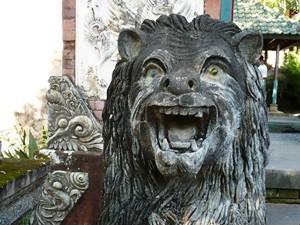Löwenstatue in Tirtagangga