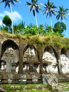 Die Königsgräber Gunung Kawi im Ubud