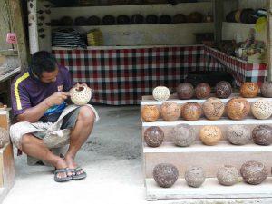 Das Kunsthandwerk hat in Ubud eine lange Tradition - Bali, Lombok und Flores