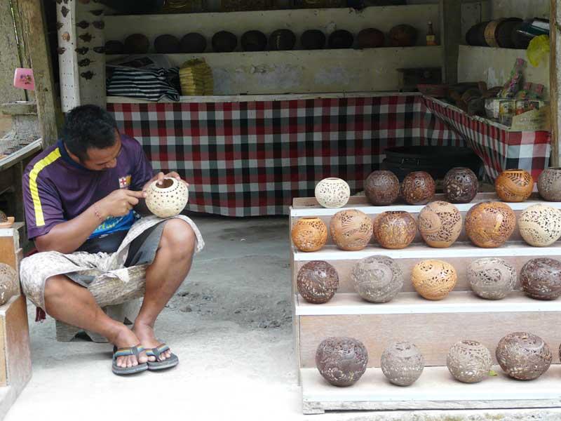 Das Kunsthandwerk hat in Ubud eine lange Tradition