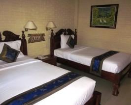Zimmer im Budgethotel in Ubud