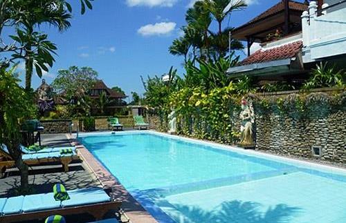 Swimmingspool bei Ihrem Hotel in Ubud