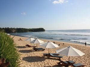 Strand in der Bucht auf Bukit