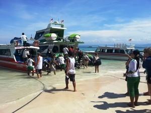 Ankunft auf Nusa Lembongan