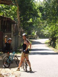 Eine Fahrradtour zu den Bali Aga