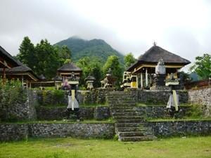 Eine Tempelanlage an der Ostküste