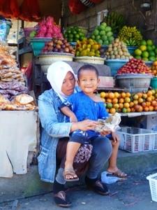 Ein Besuch auf dem lokalen Markt
