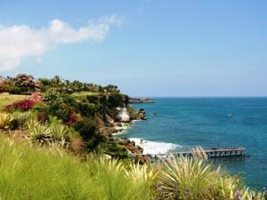 Die Küste um Seraya im Osten Balis