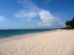 Heller Strand in Jimbaran