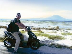 Nusa Lembongan mit dem Moped erkunden