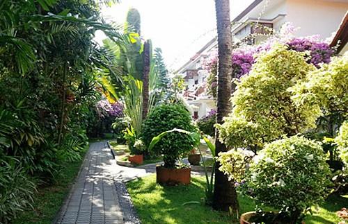 Garten im Hotel in Sanur