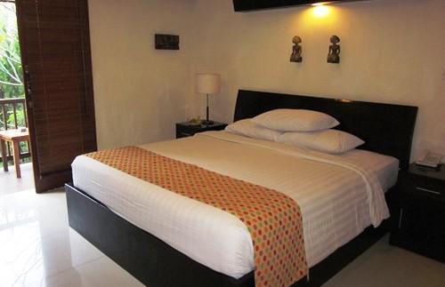 Gemütliches Zimmer im Hotel in Sanur