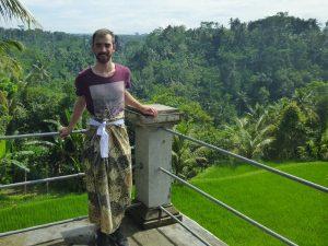 Reisespezialist David in Ubud auf Bali