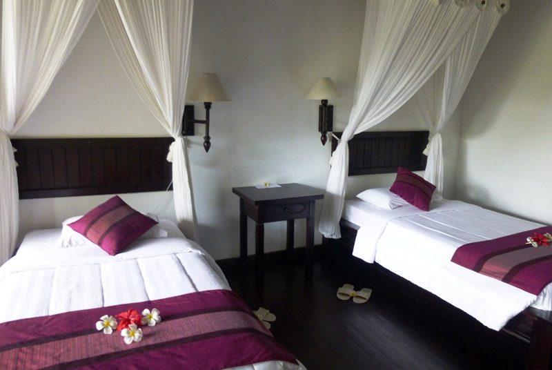 Schlafzimmer im Resort in Pemuteran