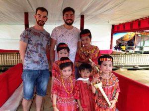 Begegnungen beim Toraja Stamm in Rantepao
