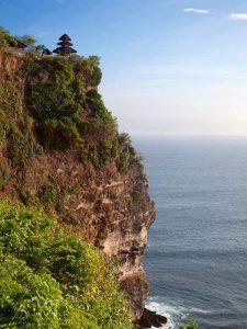 Uluwatu Tempel: Spektakuläre Lage über den Klippen