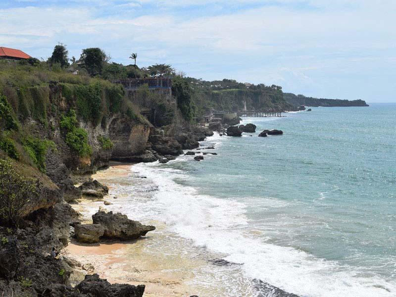 Uluwatu Bali Steilküsten beim Strandausflug