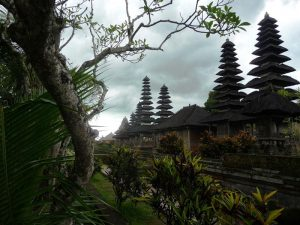 Berühmter Tempelkomplex Taman Ayun