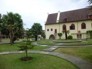 Das Fort Rottderam in Makassar auf Sulawesi.