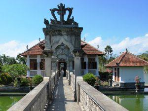 Der Wasserpalast in Tirtagangga auf Bali.