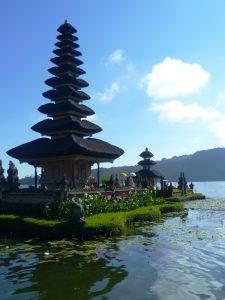 Der Pura Ulun Danu Tempel auf Bali.