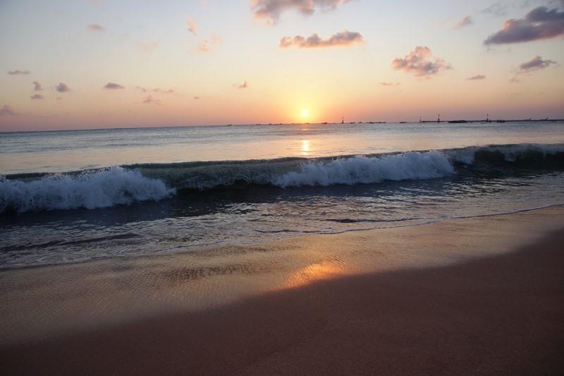 Sonnenuntergang Jimbaran Bali