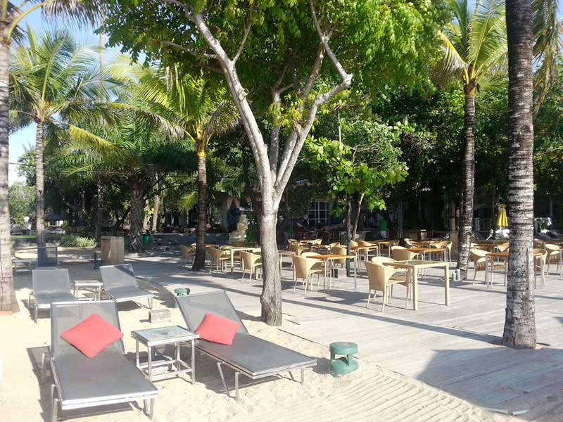 Komforthotel direkt am Strand von Sanur