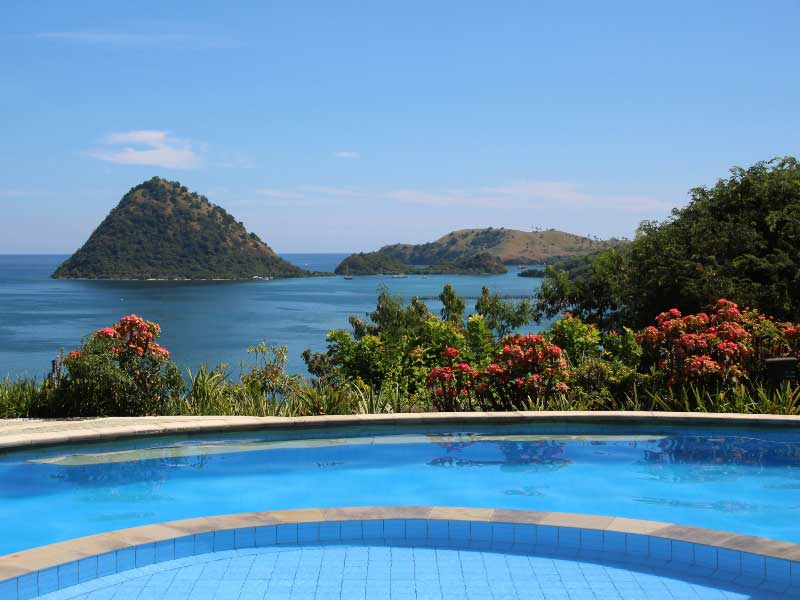 Entspannen im Hotel mit Pool in Labuhan Bajo