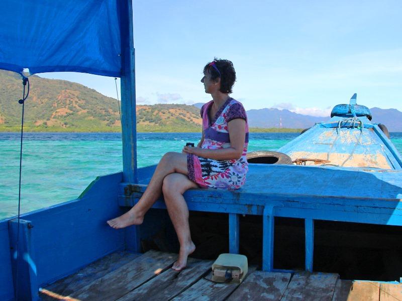 Maumere - Mit dem Boot unterwegs zu bunten Schnorchelriffen