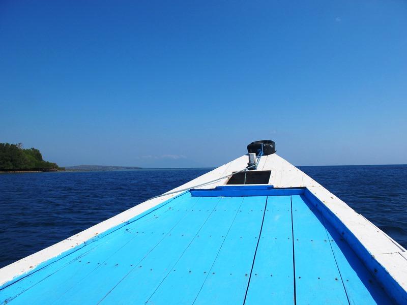 Mit dem Boot zur Insel Menjangan