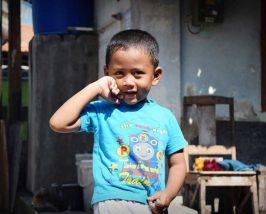 Kind in Yogyakarta