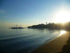 Aufgehende Sonne in Pemuteran - Bali Aktiv