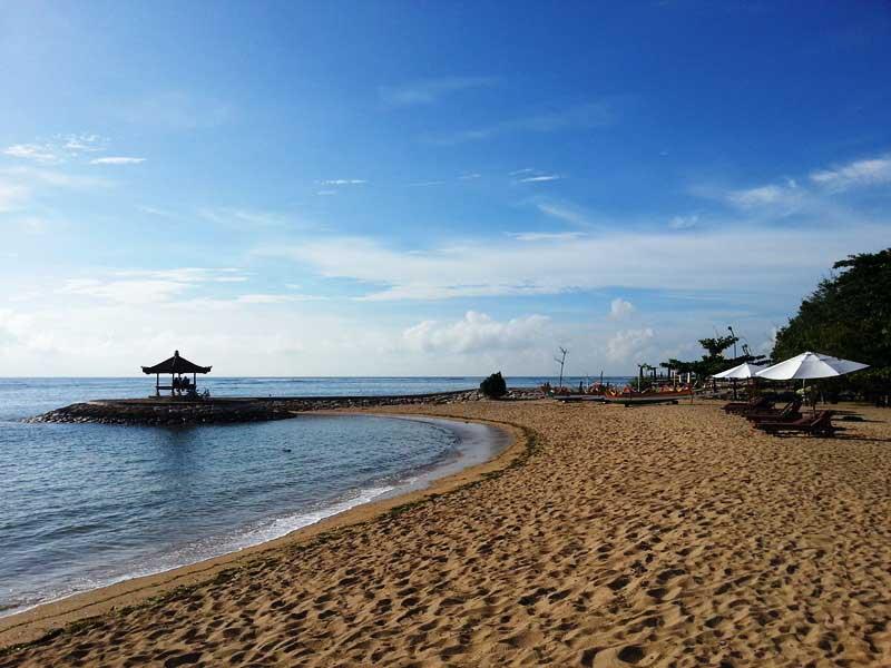 Sanur - ideal für ausgedehnte Strandspaziergänge