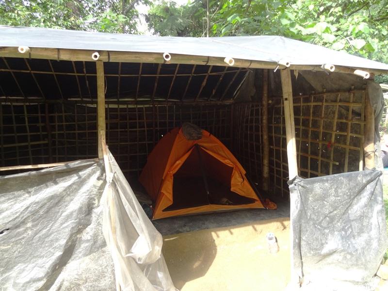 Ihr Zeltcamp mitten im Dschungel von Bukit Lawang