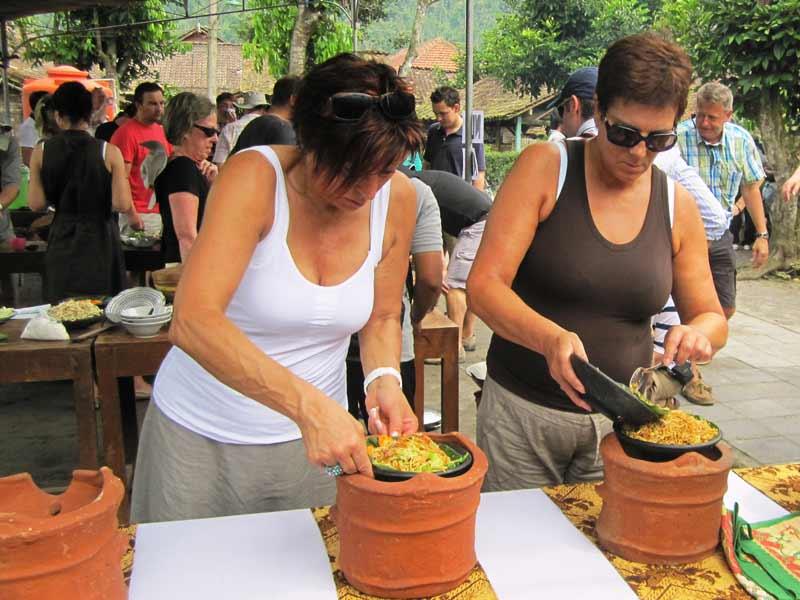 Kochen in Candirejo