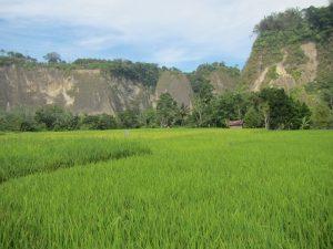 Der Canyon bei Bukittinggi auf Sumatra.