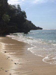 Ein Strand im südlichen Teil von Bali.