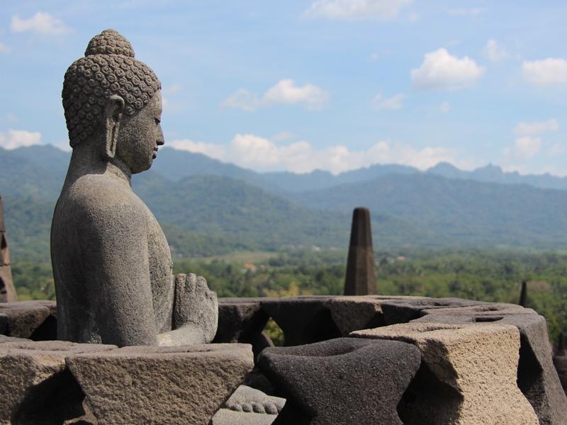 Indonesien - Yogyakarta - Borobudur Tempel