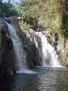 Wasserfall beim Secret Garden bei Lovina.