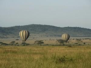 Eine Ballonfahrt können Sie optional am frühen Morgen unternehmen
