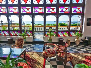 Aussicht Hotel Stone Town - Tansania mit Sansibar